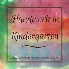 Kindergarten Handwork