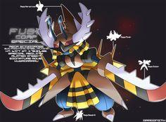 F.U.S.E Corp Special: Mega Scizidross by Dragonith.deviantart.com on @DeviantArt