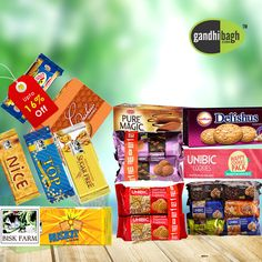 Exciting offers on biscuits online available at gandhibagh.com.  Get various brand of healthy crunchy biscuits Online. free home delivery, Cash on delivery.