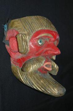 Vintage Guatemalan Dance Mask Ajitz 4B Healer Shaman Mayan Folk Art | eBay