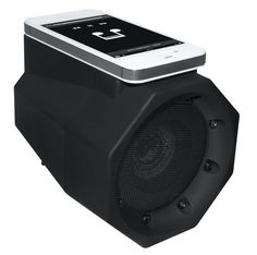 BoomTouch Wireless Touch Portable Speaker Boom Box (As Seen On TV!) Bluetooth Not Required! (Black)