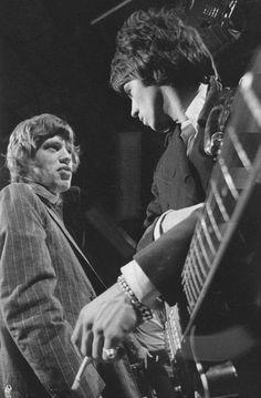 Mick Jagger & Keith Richards, 1966