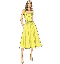 V9100, Misses' Dress