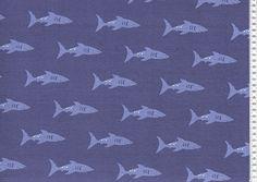 Joy shark dark blue