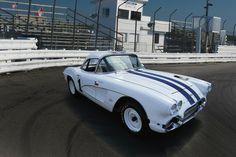 White 61' Corvette