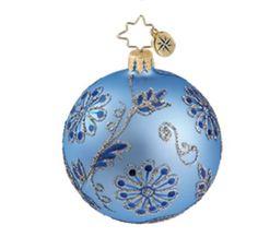 christopher radko ornaments | Christopher Radko Christmas Ornament - Baroque Tapestry Mini