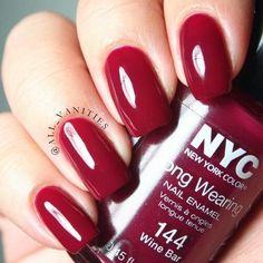 nyc wine bar nail polish | via montauk mermaid