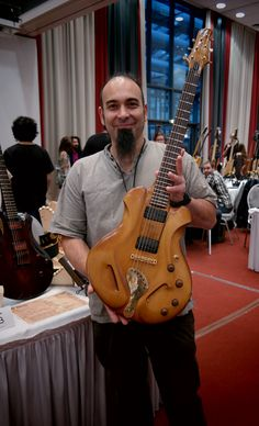 """ECHOES from HGGS 2015: """"It was a great pleasure and honor for Ergon Guitars to be at the 2015 HGGS! I had the chance to be with great people who use their passion to organize, to help and to exhibit their work, as well as to be with those who came to visit a show full of dreamers and hard workers. One of the best days of 2015!"""" - ADRIANO SÉRGIO, Ergon Guitars, Portugal"""