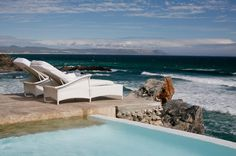 From its stunning cliff-top position in the town of #Hermanus, Birkenhead House enjoys exhilarating ocean views and close proximity to the beach.