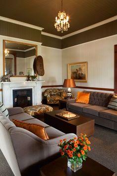 Shaggy rug thick soft warm terracotta burnt orange cream - Orange and cream living room ideas ...
