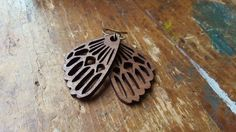 ...I went walking and what did I see? Oh my sweet honeybee... -Mountain Man  Wooden LITTLE Bees Wings Earrings  These delicate, lightweight,