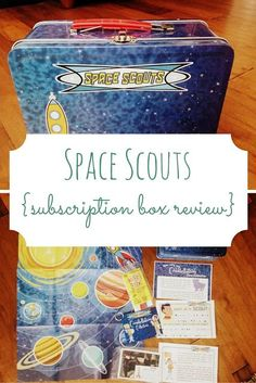 Space Scouts is a subscription box for kids, especially those interested in space! The emphasis is on constellations and exploration.