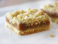 I don't usually show you the same thing twice, but these caramel bars are worth mentioning again. The first time  they appeared, they were o...