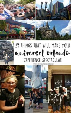 Here are 25 things that will make your Universal Orlando Experience Spectacular. Universal Studios Florida, Universal's Islands of Adventure and Volcano Bay