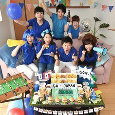 スポーツは断然『家スタ』が盛り上がる!みんなで楽しむ観戦パーティー   ARCH DAYSサマーパーティー / PARTY   ARCH DAYS Baby Birthday, Lunch Box, Goals, Japan, Dish, Party Ideas, Food, Bebe, Bento Box