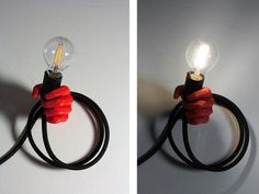Lamp holder help me out version 1 by IN3Ddesign on Etsy