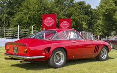 A Ferrari 250 GT Lusso by Fantuzzi, this was the 16th GT Lusso to roll off the production line. Originally a standard car, this 250 GT Lusso was re-bodied, with a front end intended to resemble the 250 GTO and then-new 275 GTC