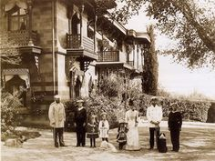Alexander III with his family in Livadia.