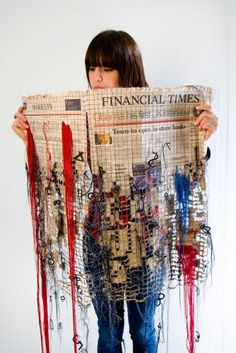 Kirsty Whitlock - Losses, 2009 - a member of our branch of the embroiderers…
