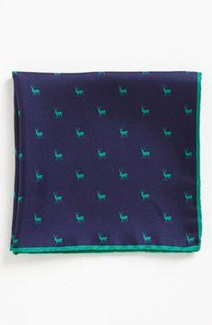 Silk Pocket Square.