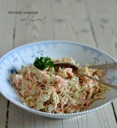 Nordisk coleslaw med rygeost