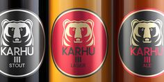 Re-design concept for a Finnish beer brand. Re-design by Guilherme Jardim of NTGJ Design. Check out the link.