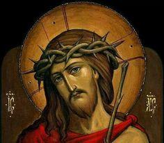 I wholeheartedly believe that this Orthodox icon is the most beautiful icon of Jesus Christ! Catholic Art, Religious Art, Jesus Art, Jesus Christ, Jesus Superstar, Greek Mythology Art, Roman Mythology, Jesus Photo, Paint Icon
