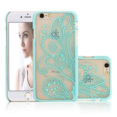iPhone 6 Case, NOVT Flower Printed Slim Fit Hard Plastic Clear iPhone 6 Case Cover Shock Absorbing Anti-Scratch Floral Transparent Back PC Cell Phone Case for Apple iPhone 6/6S 4.7 Inch (6) NOVT http://www.amazon.com/dp/B01ARRCW9M/ref=cm_sw_r_pi_dp_rt3Nwb0SMQKVV
