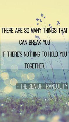 My edit :) The Sea of Tranquility Katja Millay