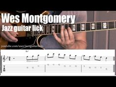 Wes Montgomery jazz guitar lesson | Phrygian guitar lick