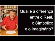Qual é a diferença entre o Real, o Simbólico e o Imaginário? | Christian Dunker Youtube, 1, Social Networks, Psicologia, Youtubers, Youtube Movies