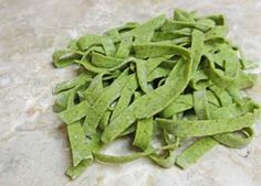 Easy Homemade Gluten Free Spinach Pasta Recipe: http://glutenfreerecipebox.com/gluten-free-spinach-pasta-recipe/ #glutenfree
