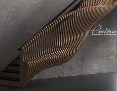 parametric table by Denis Homyakov on Behance Parametric Architecture, Parametric Design, Interior Architecture, Form Design, Bed Design, Design Model, Luxury Furniture, Furniture Design, Company Portfolio