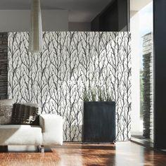 Schöner Wohnen 4 – livingwalls Vliestapete – Tapeten Nr. 268341 in den Farben weiß, schwarz, anthrazit jetzt bei TapetenMax® ✔ Schnelle Lieferung ✔ Kostenloser Versand ab 50€