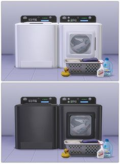 Washer & Dryer recolors at 13pumpkin31 via Sims 4 Updates