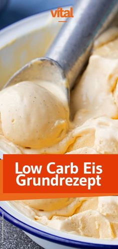 Just make delicious and healthy ice yourself - Low Carb - Frozen Fruit Keto Foods, Keto Snacks, Low Carb Desserts, Low Carb Recipes, Baking Recipes, Low Carb Ice Cream, Healthy Ice Cream, Paleo Dessert, Healthy Dessert Recipes