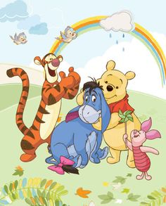 Cute Winnie The Pooh, Winnie The Pooh Friends, Eeyore Pictures, Disney Pictures, Pooh Bear, Tigger, Baby Disney, Disney Love, Mickey Mouse Pictures