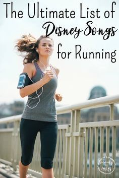 Disney Songs Playlist for Running.  If I have learned nothing else during this training, it's that the music you listen to will make or break your run.  Here is a list that will really get you moving!