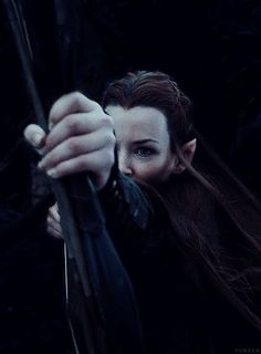 """""""Tauriel is a great example of the extremely rare instance when an added character is a positive thing."""" 
