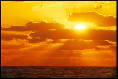 """Visual #BibleVerseoftheDay: Ocean Sunrise, Melbourne Beach, Florida and Acts 17:26-27. """"He made every man…perhaps they might reach for Him and find Him, though He is not far from each one of us…"""" CLICK THE PHOTO for the complete passage.  http://visualverse.thecreationspeaks.com/god-exists/"""