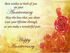 #happyanniversary #anniversaryquotes #wishforyou #wonderfulpair Marriage Anniversary Quotes, Happy Anniversary, Wishes For You, Quotations, Happy Brithday, Quotes, Quote, Shut Up Quotes