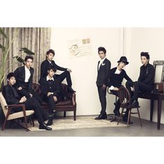 Infinite: My favorite Kpop boy band. These guys can move!