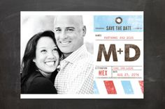 Pack Your Bags Destination Save the Date Cards by ... | Minted