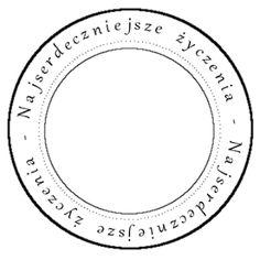 agnieszkapasjonata: Najserdeczniejsze życzenia.... darmowe digi stempe... Book Challenge, Digital Stamps, Printables, Symbols, Letters, Handmade, Scrapbooking, Plates, Album