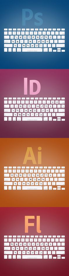 The main Adobe shortcuts to help aspiring designer to specialize!