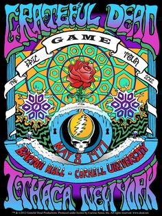 Created by jglenn121 for the contest to design a poster for the Grateful Dead Game - The Epic Tour