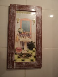 Quadro de banheiro