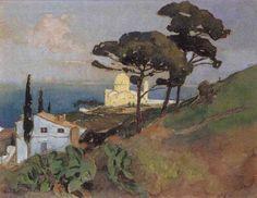 Notre Dame d'Afrique à Alger von Edouard Edmond Doigneau