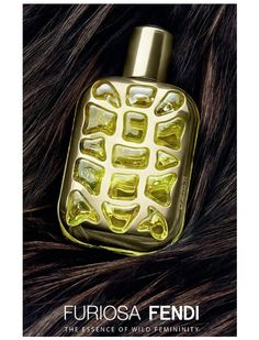 "Fendi launches a new women's fragrance called Furiosa, which means ""furious"" and ""feisty"" in Italian. Furiosa is announced with the slogan: ""The Essence of Wild Femininity."" The composition is developed by perfumer Francois Demachy. Accords that are contained include Calabrian bergamot in the top, wallflower (violaciocca) at the heart and amber in the base."