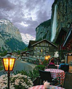 One day!  Lauterbrunnen - Switzerland